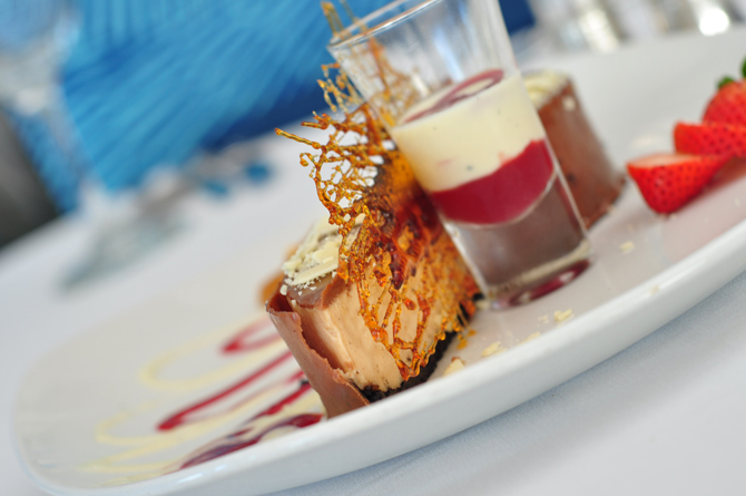 Dessert at The Tides Restaurant Barbados Restaurant Review