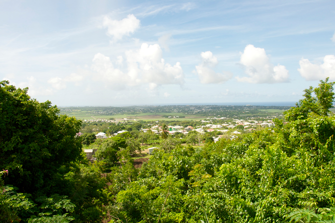View from Gun Site with Island Safari Barbados