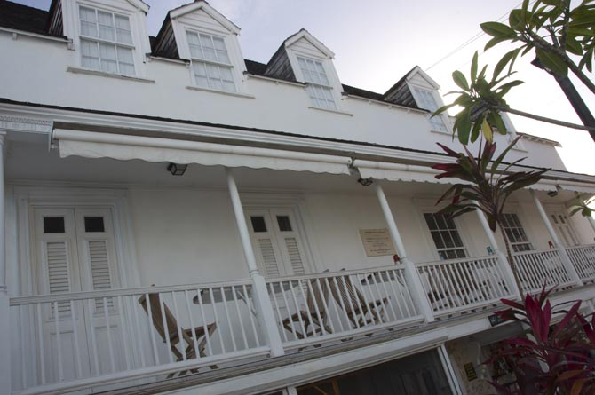 Exterior Architecture of Arlington House, Speightstown, Barbados