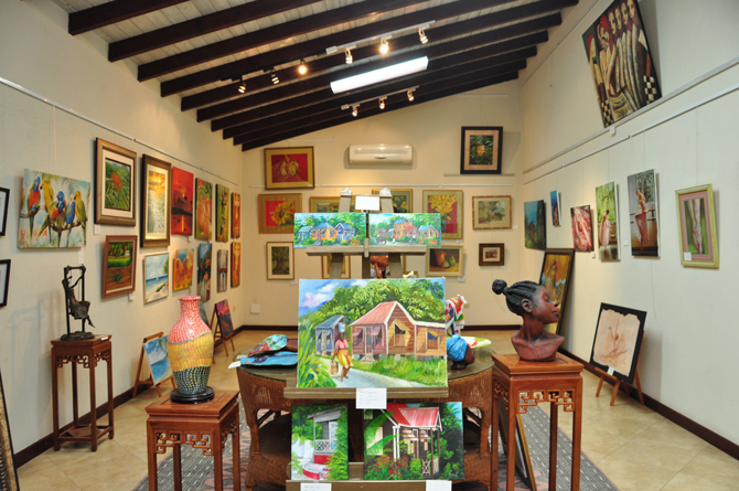 Art Gallery  at The Sugar Cane Club Barbados