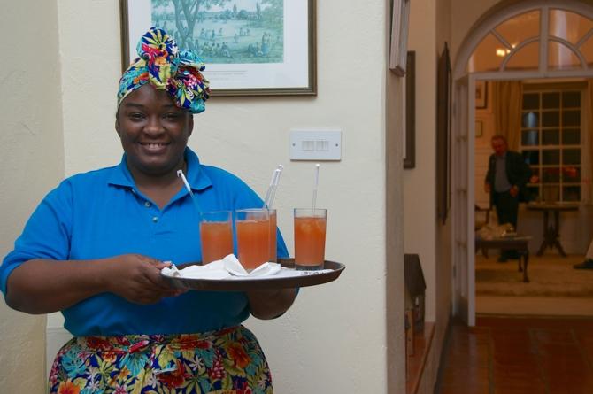 Longstanding Visitors Reception in Barbados