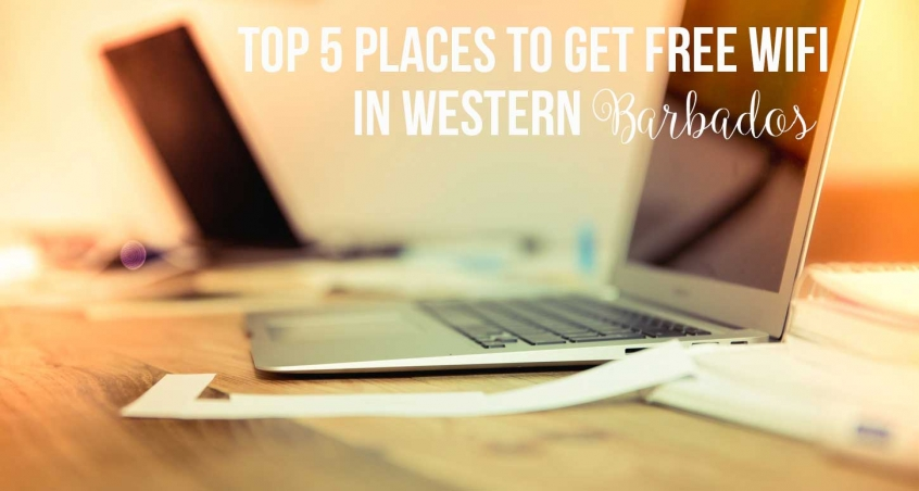 Top 5 places to get free wifi in Western Barbados