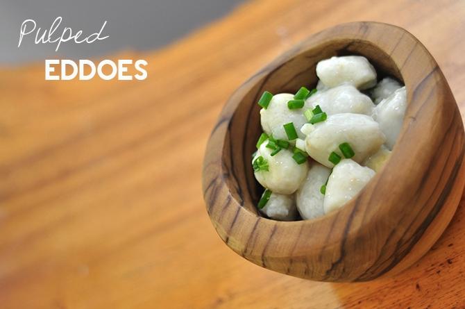 Pulped Eddoes Recipe Barbados