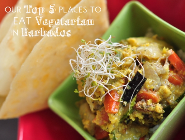 Top 5 places to eat vegetarian in Barbados