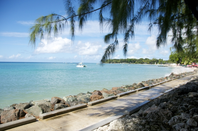 View at The Tides Restaurant Barbados