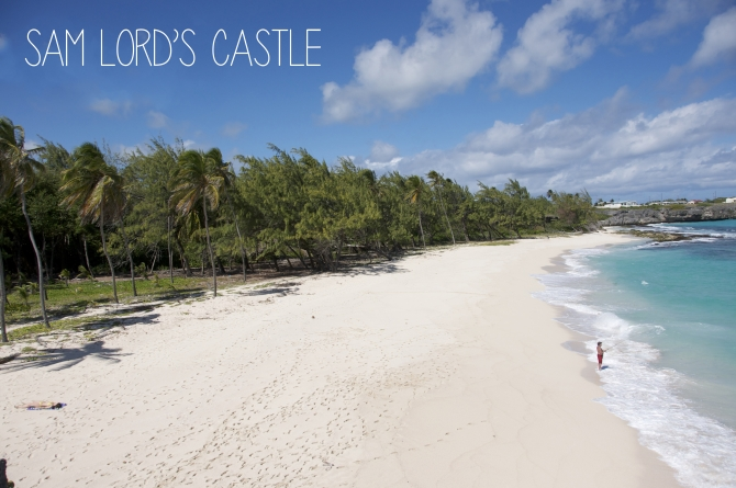 Sam Lord's Castle beach Barbados