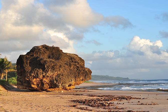 Round Rock, Cattlewash Barbados