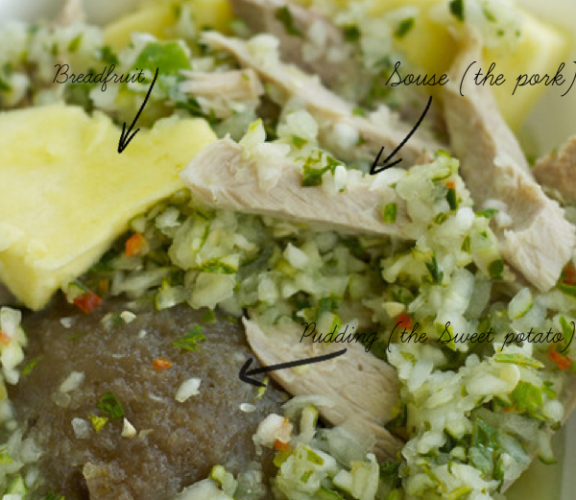 Pudding and Souse in Barbados