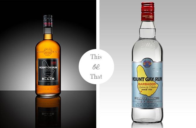 Brown Rum or White Rum