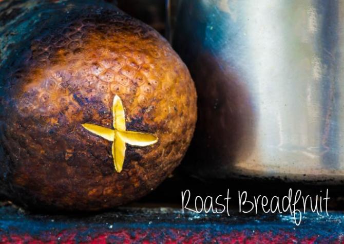 Roast Breadfruit recipe