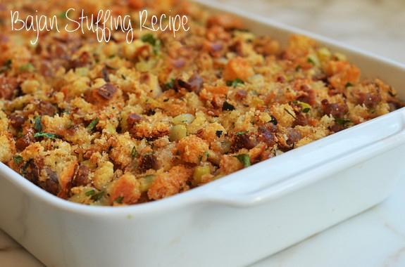 Bajan Stuffing recipe