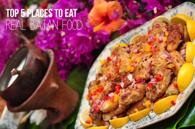 Top 5 places to eat real Bajan food