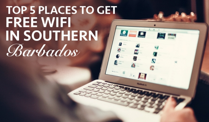 Top 5 places to get WIFI on the South Coast