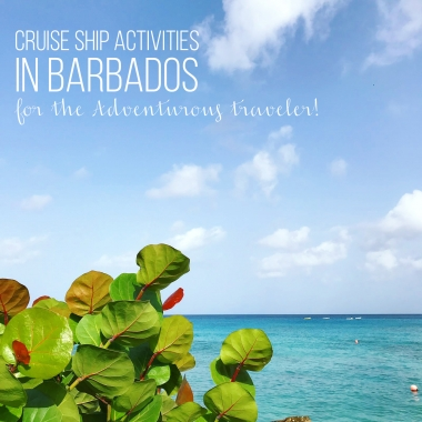 Activities in Barbados for the Adventurous traveler!