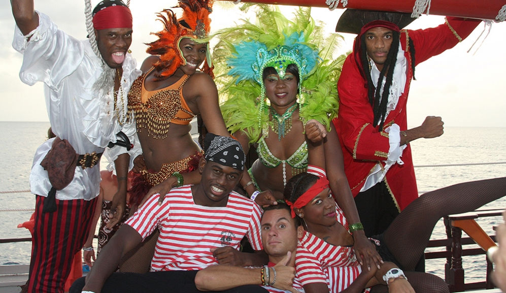 Staff on Black Pearl Party Cruises Barbados