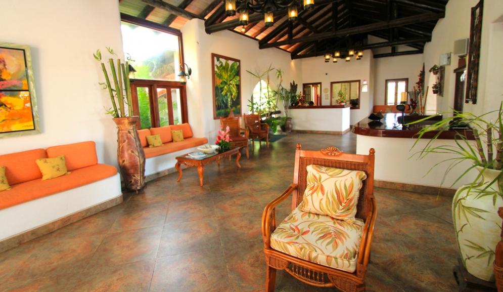 Sugar Cane Club Hotel & Spa Barbados- Reception Area