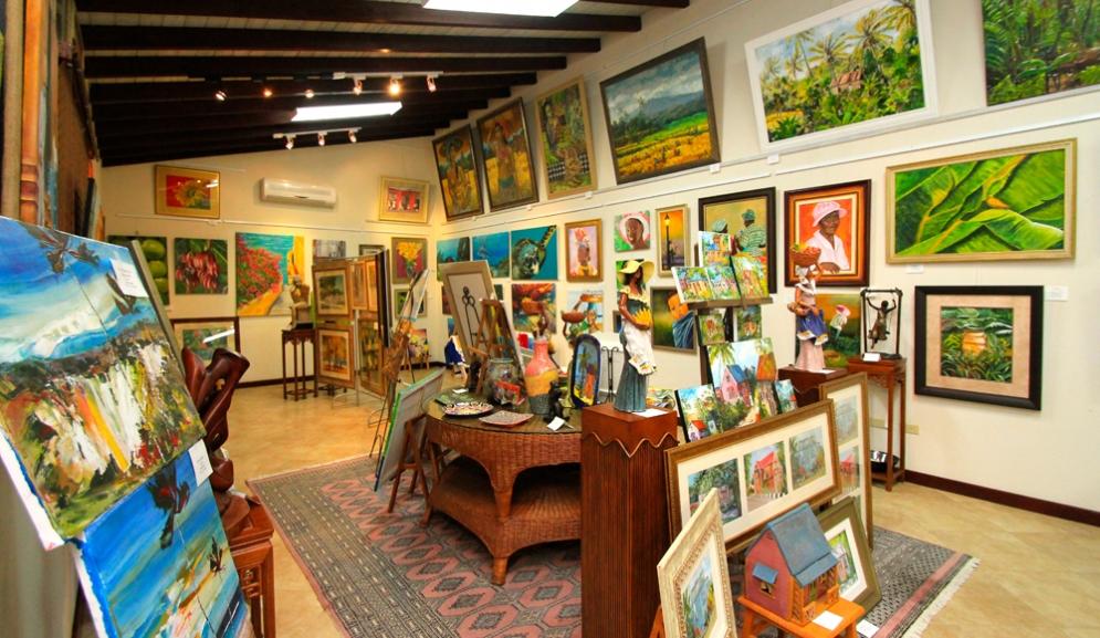 Sugar Cane Club Hotel & Spa Barbados- Frangipani Art Gallery