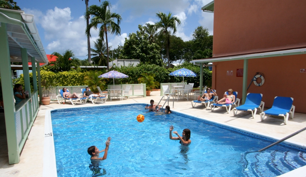 Worthing Court Apartment Hotel- Pool Side