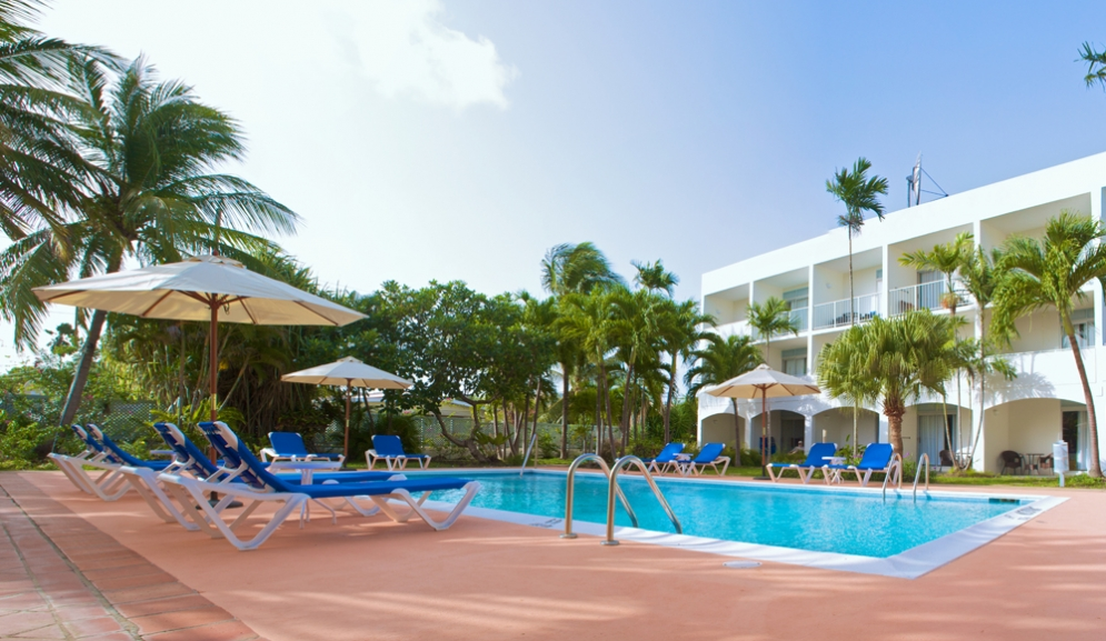Time Out Hotel Barbados- Pool View