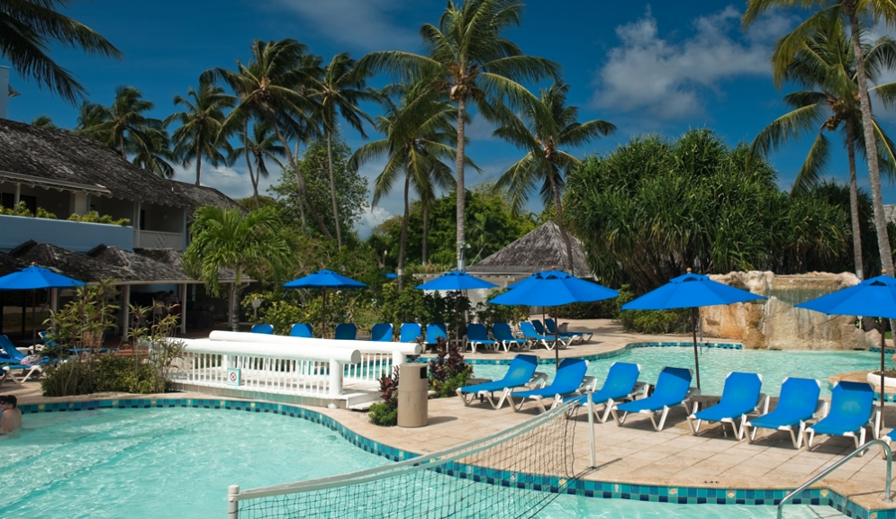 Almond Beach Resort,Barbados- Pool Side