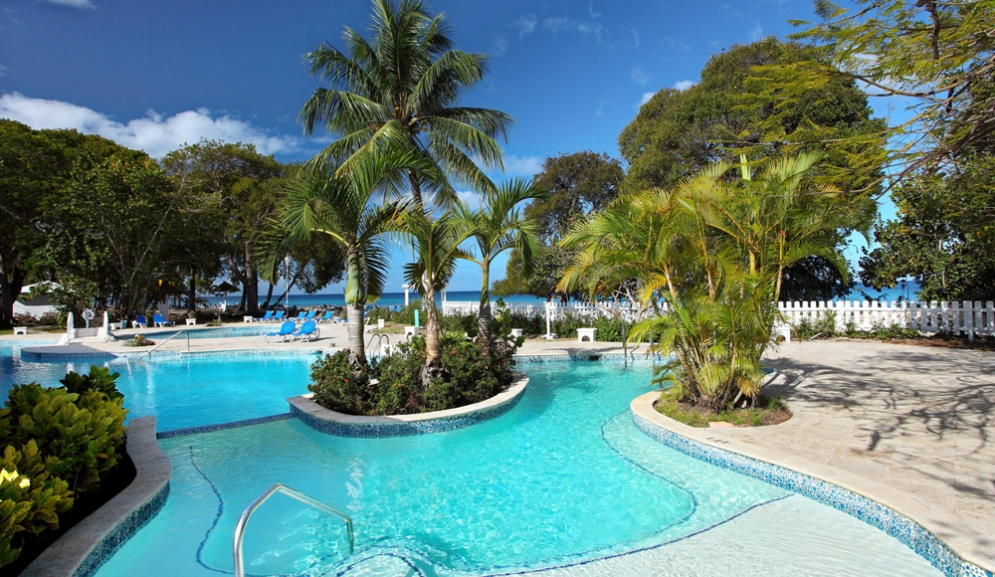 Almond Beach Resort,Barbados- Pool View