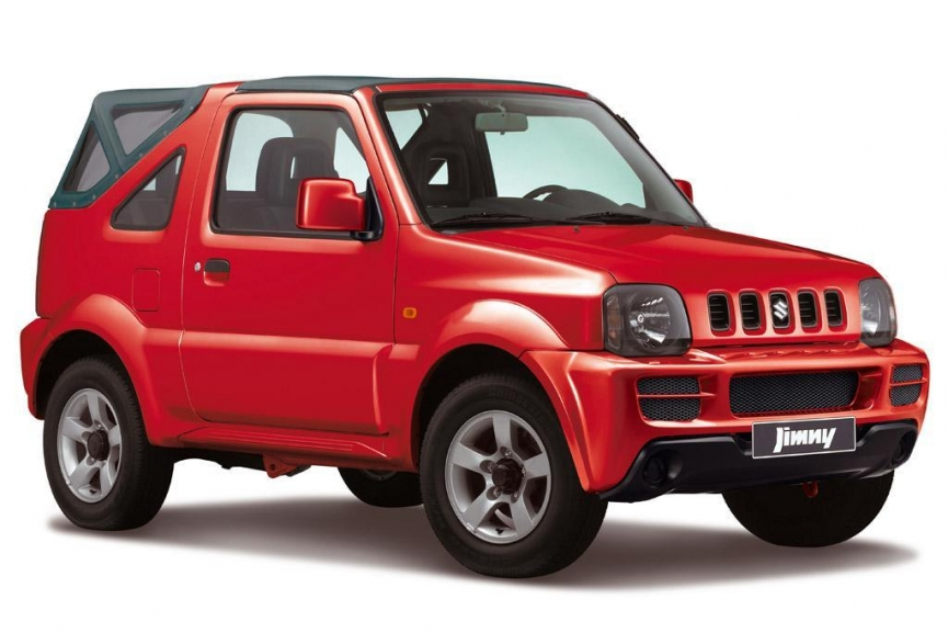 Voyager Rent A Car Barbados- Suzuki Jimny