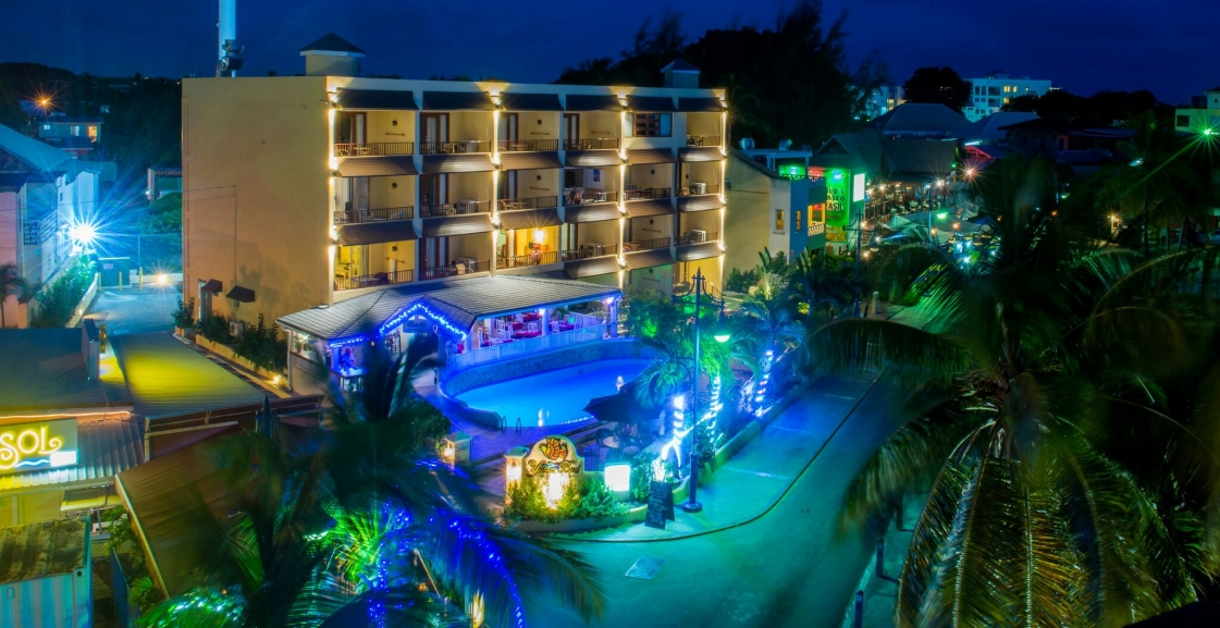 Aerial view-Yellow Bird Hotel Barbados