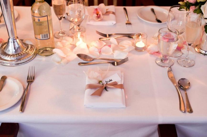 Weddings By Malissa Barbados- Table wedding decor