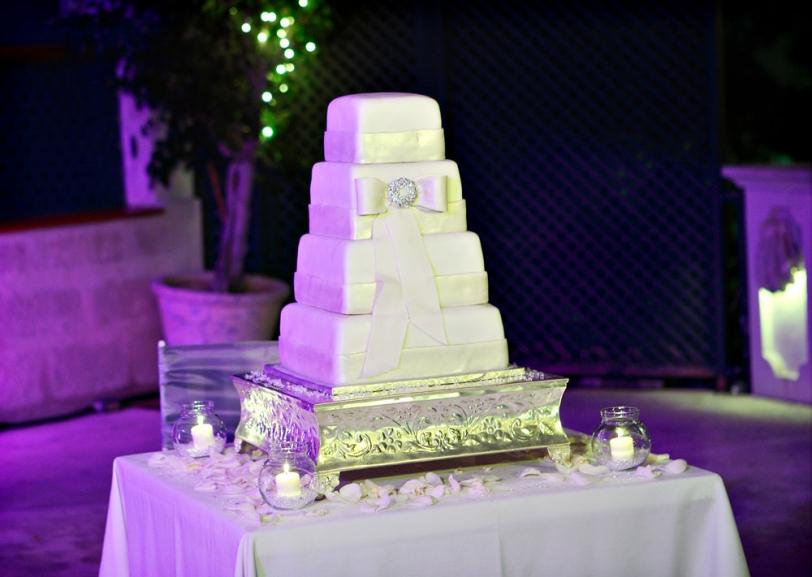 Weddings By Malissa Barbados- Wedding Cake