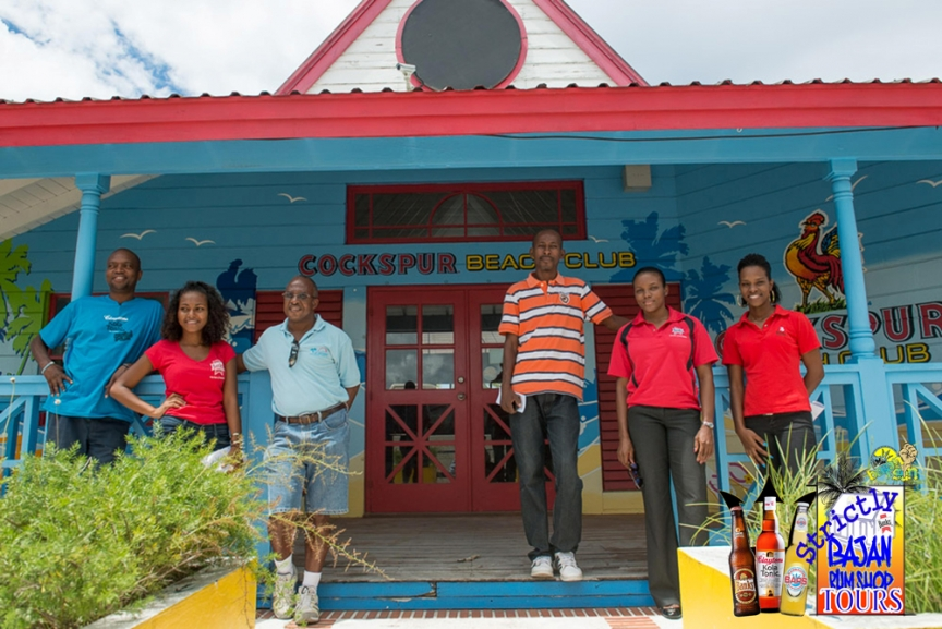 Strictly Bajan Rum Shop Tours- Outside of Rum Shop