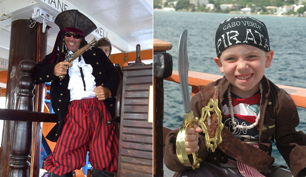 Pirates on Black Pearl Party Cruises Barbados