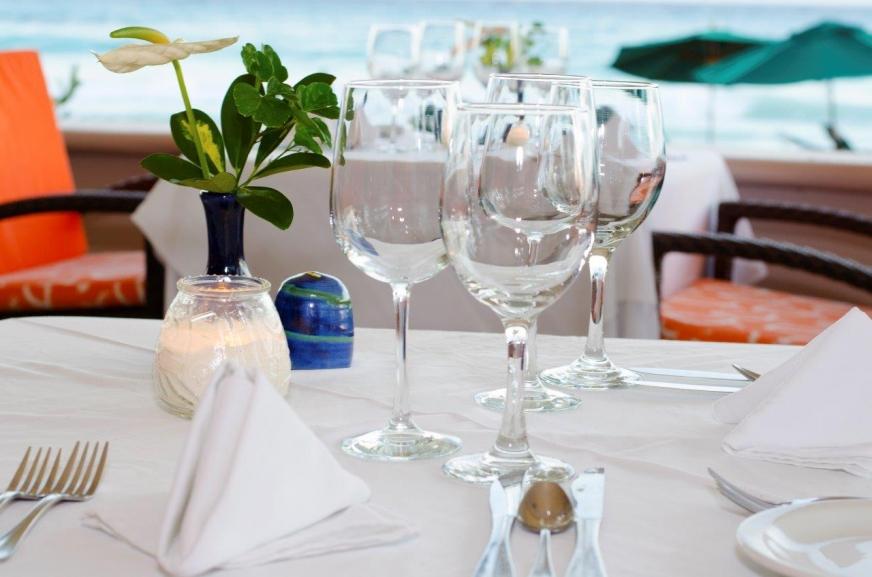 Accra Deck Restaurant Barbados- Dining