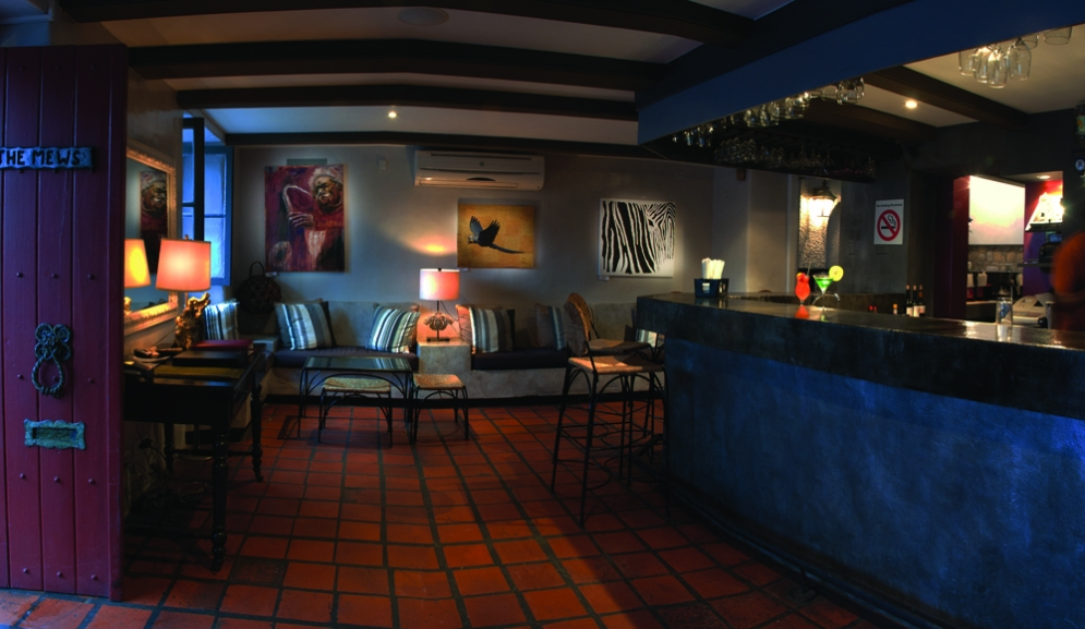 Bar and Lounge  at The Mews Restaurant Barbados