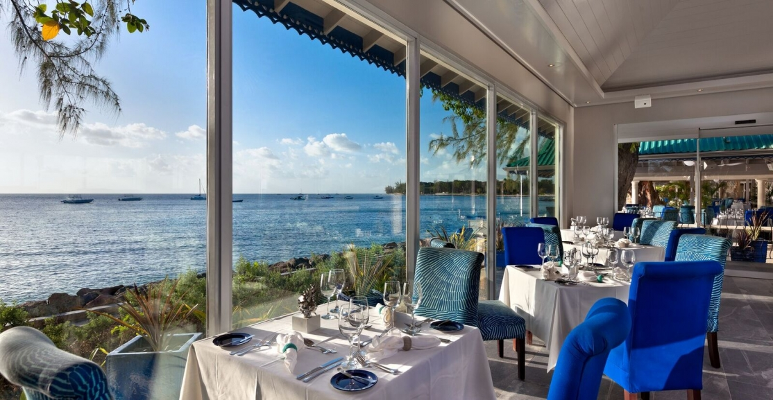 Dining at the Elegant and very Chic Tides Barbados
