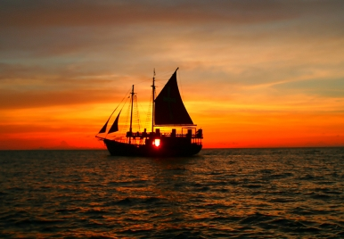 Dinner Sunset Cruise on Black Pearl Party Cruises Barbados