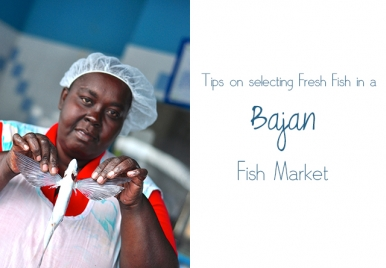 Tips on selecting fresh fish in a Bajan Fish Market