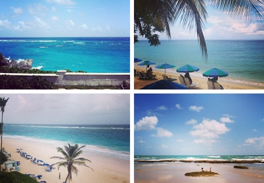 The Beautiful Blues of Barbados