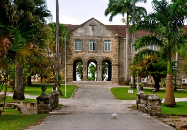 Codrington college, St.John, Barbados.