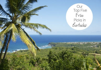 Our Pick for the Top Five free things to do in Barbados