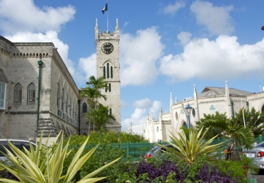 Parliament Buildings in the UNESCO Historic Bridgetown Site