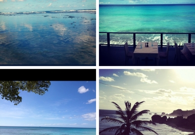The never ending blues of Barbados