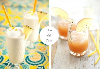 This or That: Rum Punch or Pina Colada
