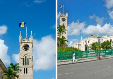 The Barbados Parliment Buildings