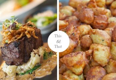 Street Food VS. Fine Dining