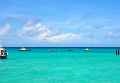 Fishing Boats at Oistins, Barbados