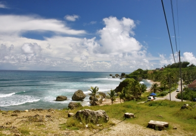 Parlour Beach, Bathsheba, Barbados.