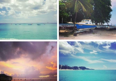 Skies and Seas of Barbados