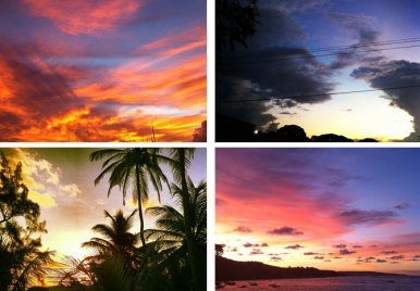 The Beautiful Skies of Barbados