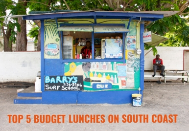 Top 5: Budget Lunches on the South Coast of Barbados