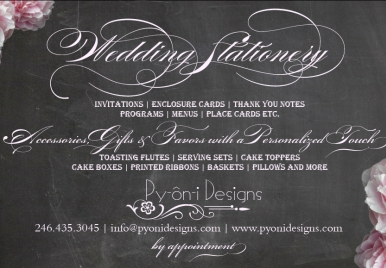 Py-on-i Designs- Wedding Vendor Barbados